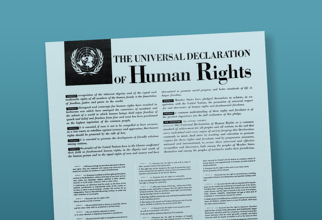 The Universal Declaration of Human Rights