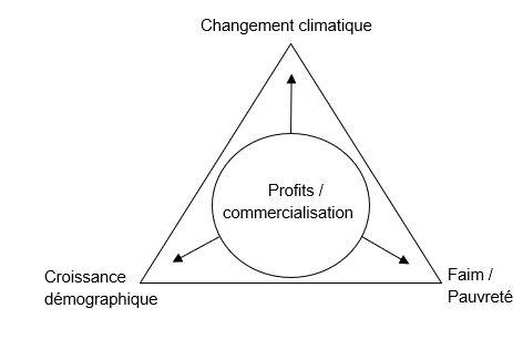 Changement climatique diagramme