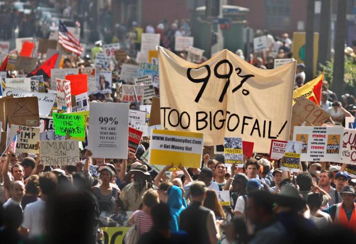 We are the 99%': but richest 1% will soon own two-thirds of world's wealth  | Share The World's Resources (STWR)